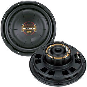 "Boss Audio-Car Audio/Video 10"" Diablo Series Low Profile Subwoofer (D10F) -"