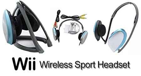 Pega Sport Wireless Earphones Headset for Nintento Wii