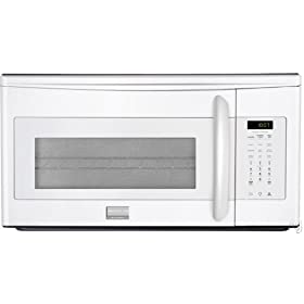 Frigidaire Gallery FGMV153CLW 1.5 cu. ft. Over-the-Range Convection Microwave Oven with 900 Cooking Watts, 2-Speed 300 CFM Exhaust Fan, Sensor Cooking, Glass Turntable and Convection Cooking Rack: White