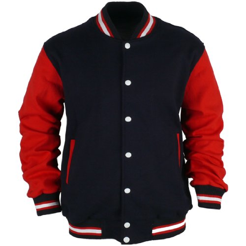 ililily Varsity Jacket American Baseball Club College School