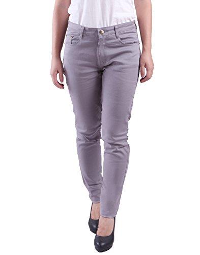 HDE Women's Jeans Jeggings Five Pocket Stretch Denim Pants (Gray) (Women Color Jeans compare prices)
