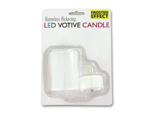 Flameless Flickering Led Votive Candle - Pack Of 96