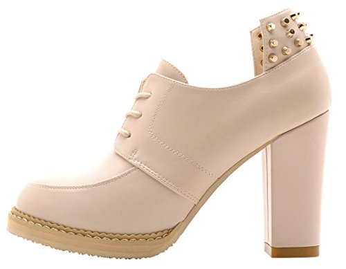 moolecole-women-rivet-thick-heel-waterproof-platform-round-toe-casual-soft-lace-boot-size-35-eu-beig