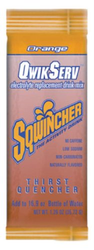 1.26 Oz Qwik Serve Powder Concentrate Orange Electrolyte Drink. (10 Boxes)