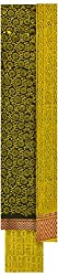 Threads Women's Cotton Dress Material (Th7029_Green And Yellow)