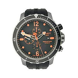 Tissot Seastar Automatic Chronograph Black Dial Men's watch #T066.427.11.057.01