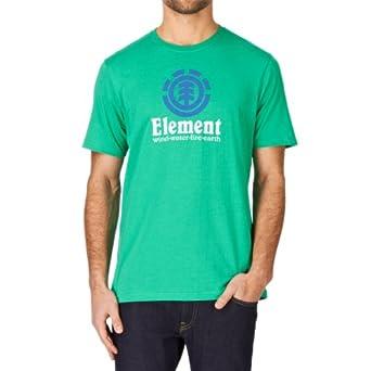 Element Vertical T-Shirt - Simply Green