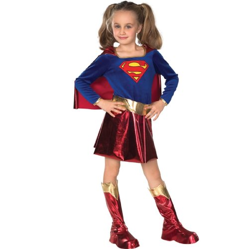 DC Comics Supergirl Child Costume - Kid's Costumes