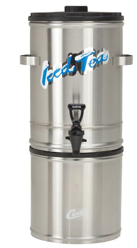 Wilbur Curtis Iced Tea Dispenser Remote Tea Dispenser Stand, Stackable - Designed to Preserve Flavor - TC15RS (Each)