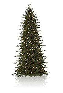 15' Balsam Hill Red Spruce Slim Artificial Christmas Tree ...