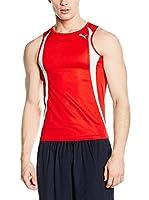 Puma Camiseta sin mangas Running Race (Rojo)