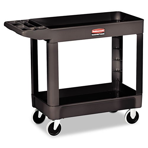 Shelf Heavy-Duty Utility Cart by Rubbermaid