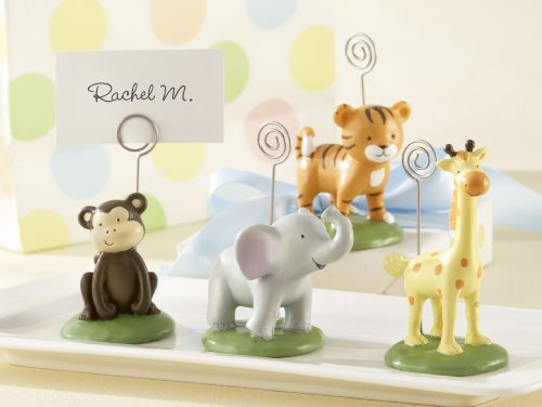 Kate Aspen Born to be Wild Animal Place Card/Photo Holders (Animal Picture Holders compare prices)