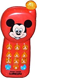 Parteet Musical Mickey Mouse Phone with Lights for Kids
