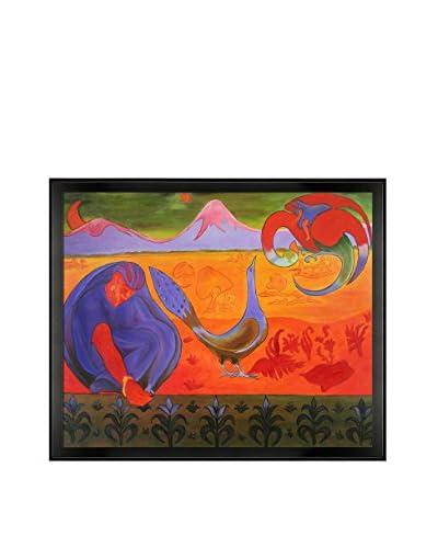 Paul-Elie Ranson Nabic Landscape Framed Hand-Painted Oil Reproduction