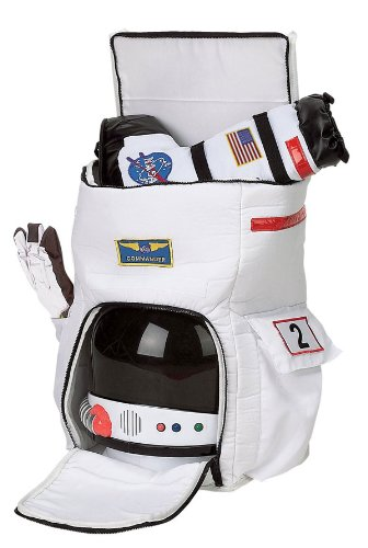 Aeromax Jr Astronaut Costume Space Backpack