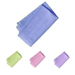 AquaBella Exfoliating Bath Cloth (Twin Pack) (colors will vary)
