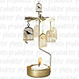 Bird Cage Rotary Candleholder