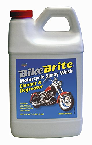 Motorcycle Engine Cleaner : Bike brite mc r motorcycle spray wash cleaner and