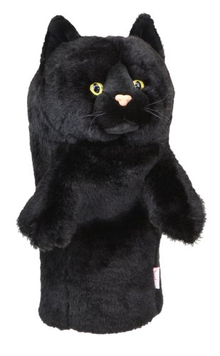 Daphne's Black Cat Headcovers