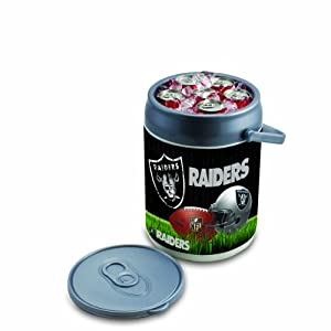 NFL Oakland Raiders Insulated Can Cooler by Picnic Time