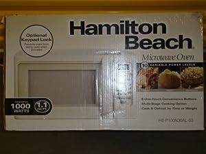 Hamilton Beach 1.1 cu ft Microwave (Black)
