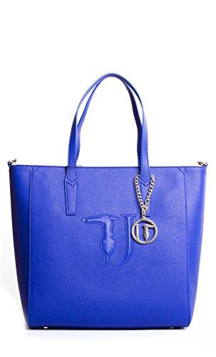 Trussardi Jeans - BORSA SHOPPING - 75B552-47-PE16 - Bluette, UNI