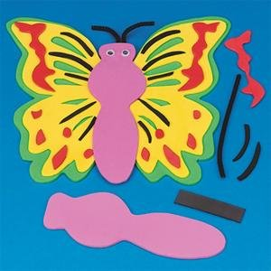 Click to buy Butterfly Crafts for Kids: Foam Butterfly Craft Kit  from Amazon!