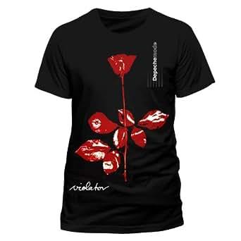 Live Nation T-shirt  Imprimé musique et film Crew Short Homme - Noir - Noir - FR: Small (Taille fabricant: Small)