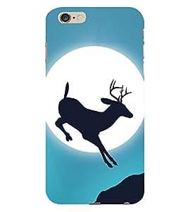 Deer Design 3D Hard Polycarbonate Designer Back Case Cover for Apple iPhone 6S Plus
