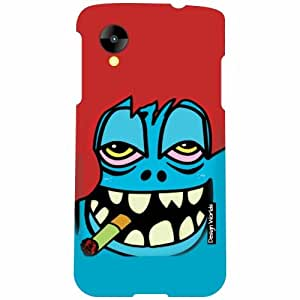 Design Worlds LG Nexus 5 LG-D821 Back Cover - Smoking Designer Case and Covers