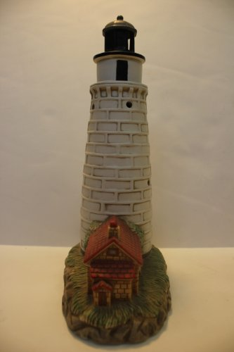 "Lefton's Historic Illuminated American Lighthouse Collection ""Cana Island, Wisconsin"" #01117"