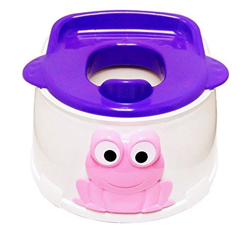 BeBeLove USA Frog Potty Trainer, Purple