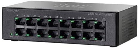 Cisco SF100D-16P-EU Commutateur 16 X RJ45 10/100 230 v