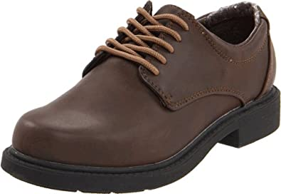 Hush Puppies Dylan Oxford 暇步士 儿童 牛津皮鞋 深棕色 折后$18.03