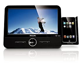 Philips DCP951/37 9-Inch Portable DVD Player with iPod Docking