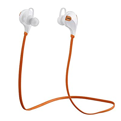 Mpow® Swift Bluetooth 4.0 Wireless Headphones Stereo Sweatproof Outdoor Sport Headsets Earbuds Car Earphone with CD Quality Hands-Free Talking/playing HD Sound via apt-X
