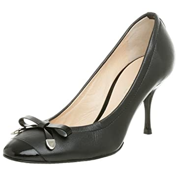 Casadei Women's 8527 Cap Toe Pump