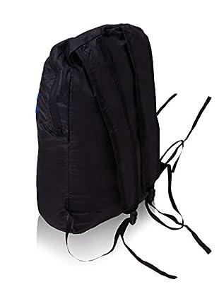 Izas Mochila Fura Folding 15L (Negro / Azul)
