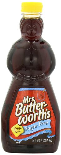 Mrs. Butterworth's Sugar Free Syrup, 24 Ounce (Best Pancake Recipe compare prices)