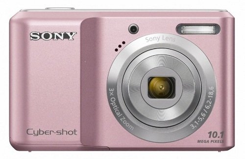 Sony Dsc-S2000 Digital Camera 10.1Mp 3X Optical Zoom 2.5 Inch Lcd (Pink)