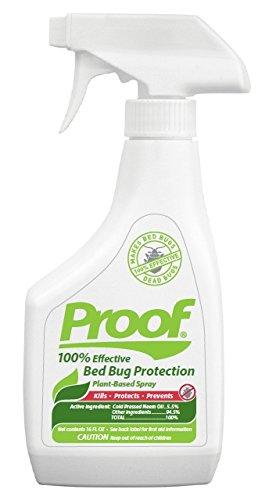 Proof Bed Bug Killer - Only EPA Approved Biodegradable Bed Bug Spray