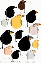 Darwin\'s Finches - Charley Harper Lithograph
