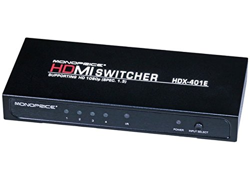 4X1 Enhanced Hdmi® Switch W/ Built-In Equalizer & Remote (Rev.3.0) Product No: 500109
