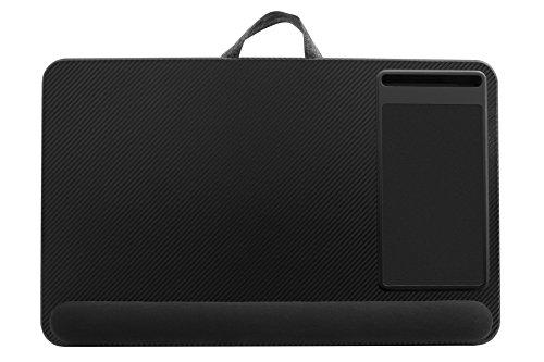 Lapgear Xl Deluxe Laptop Lapdesk 91498 Black Carbon