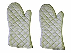 Flame Resistant Oven Gloves (Set of 2 Pieces)