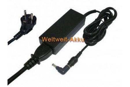 19V (Ausgangsspannung) Batterie de remplacement / AC Adaptateur pour Samsung NC10-11GP, NC10-12PWBK, NC10-13GB, NC10-13P, NC10-14GB, NC10-14GBK, NC10-