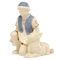 Lenox First Blessing Nativity Shepherd with Dog by Lenox