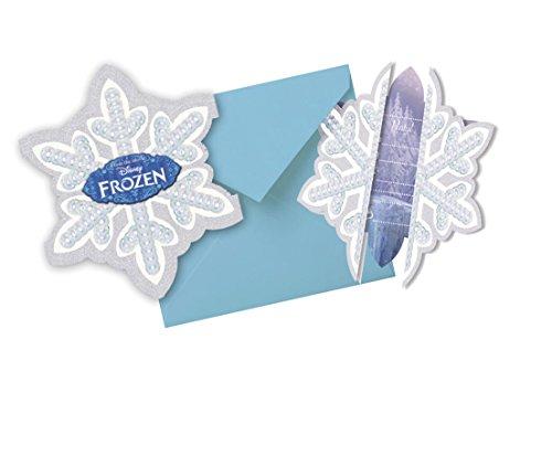 Frozen - Tarjetas de invitación de Elsa y de Anna para cumpleaños