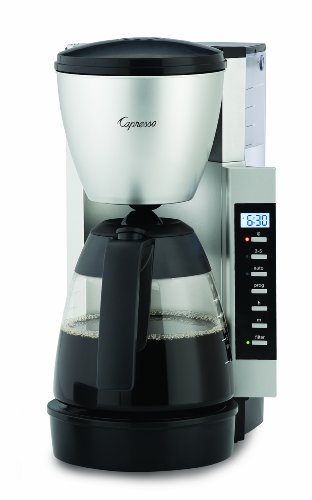Capresso Specialty Coffee Makers CM 200, Black/Silver